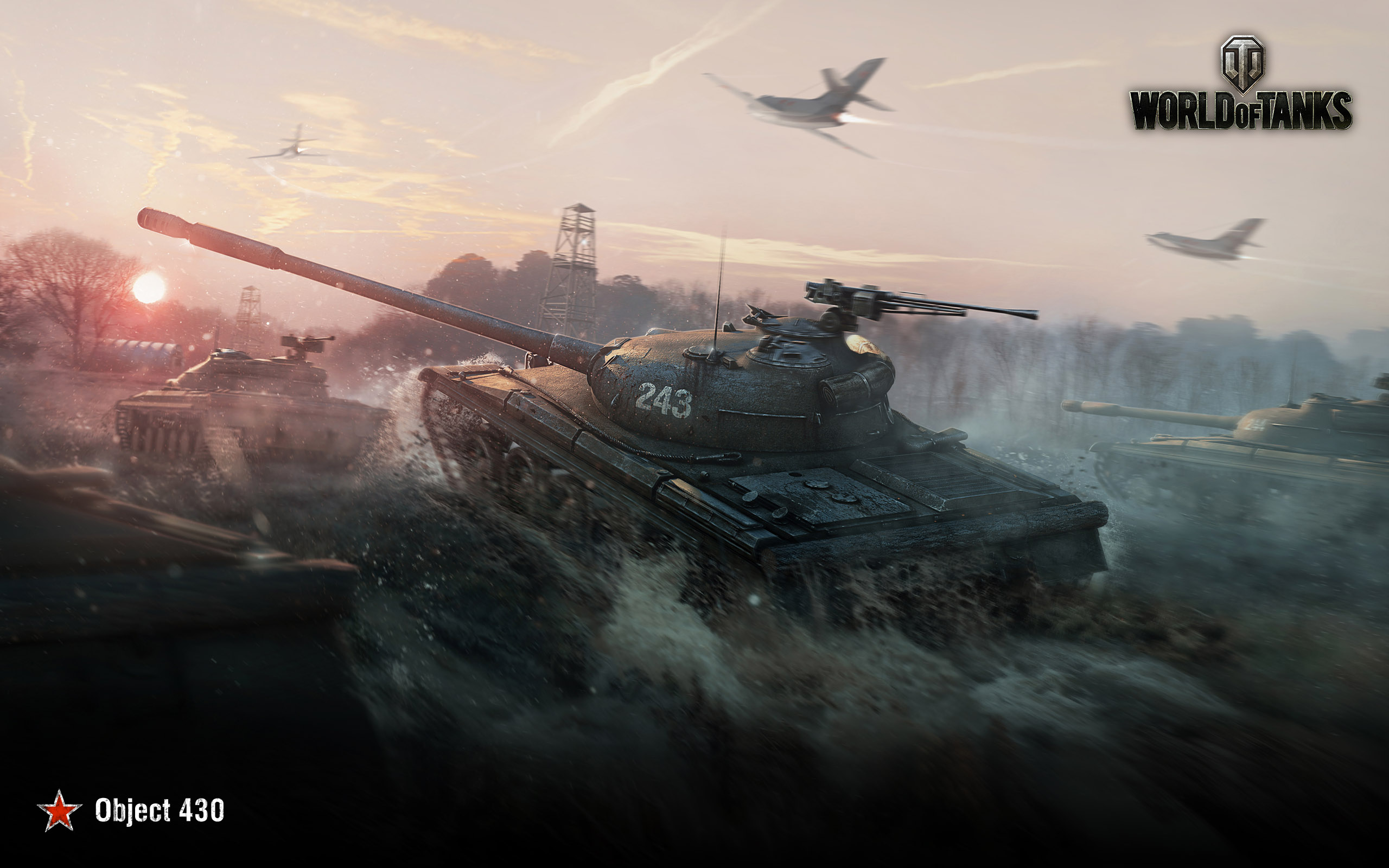 world of tanks obj 430, hd games, 4k wallpapers, images, backgrounds