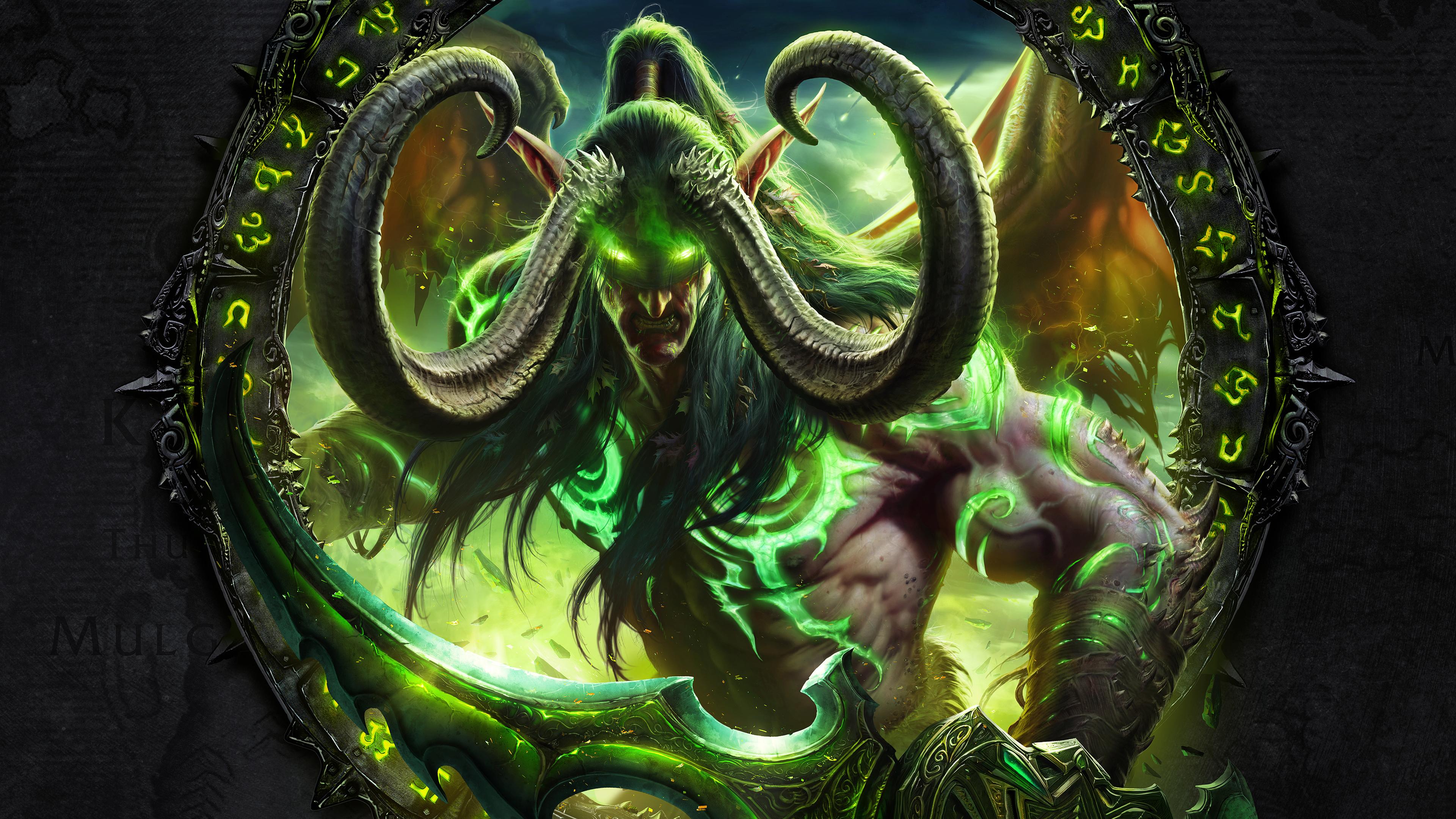 3840x2160 World Of Warcraft Legion 4k 4k HD 4k Wallpapers