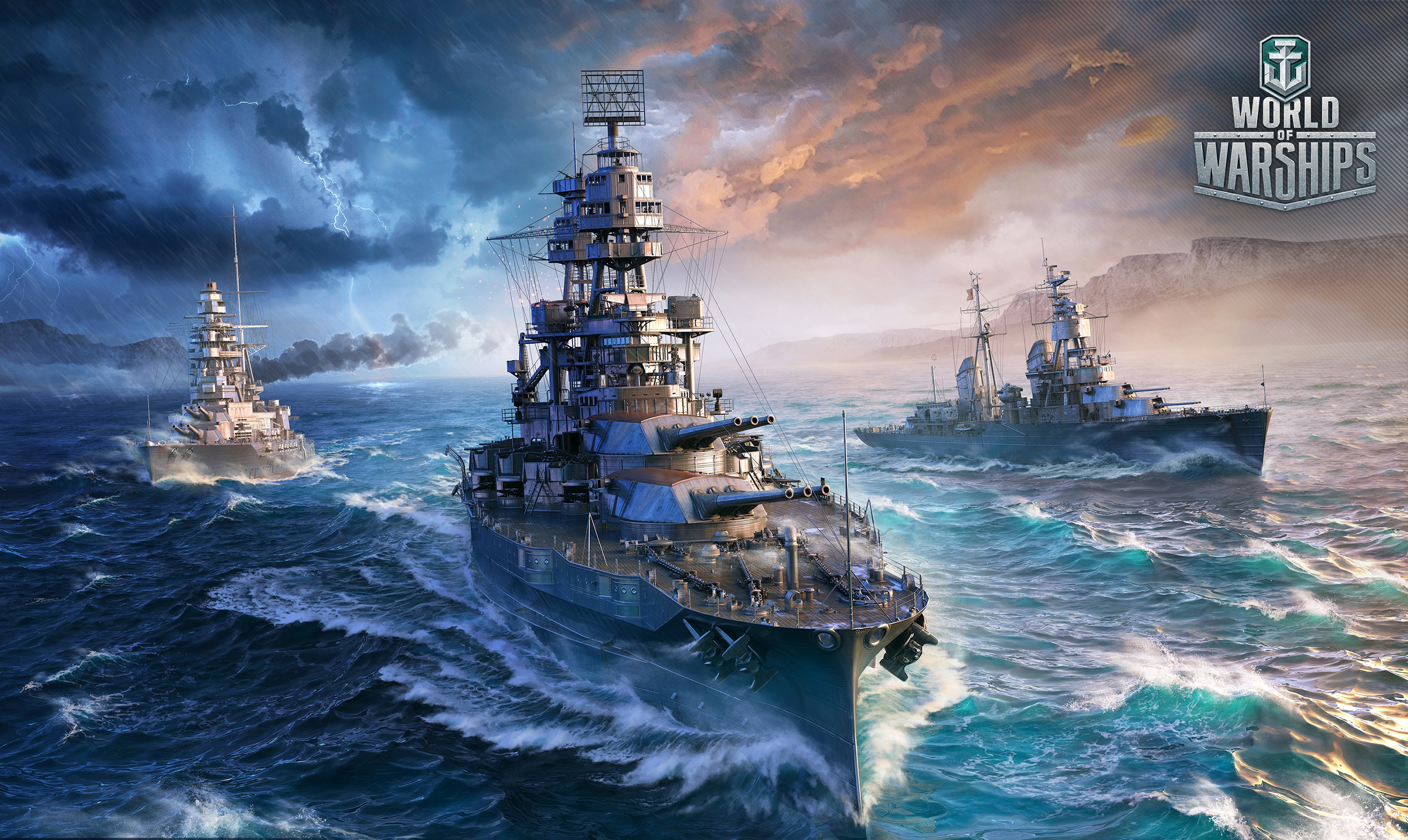 World Of Warships Wallpaper: World Of Warships 2017, HD Games, 4k Wallpapers, Images