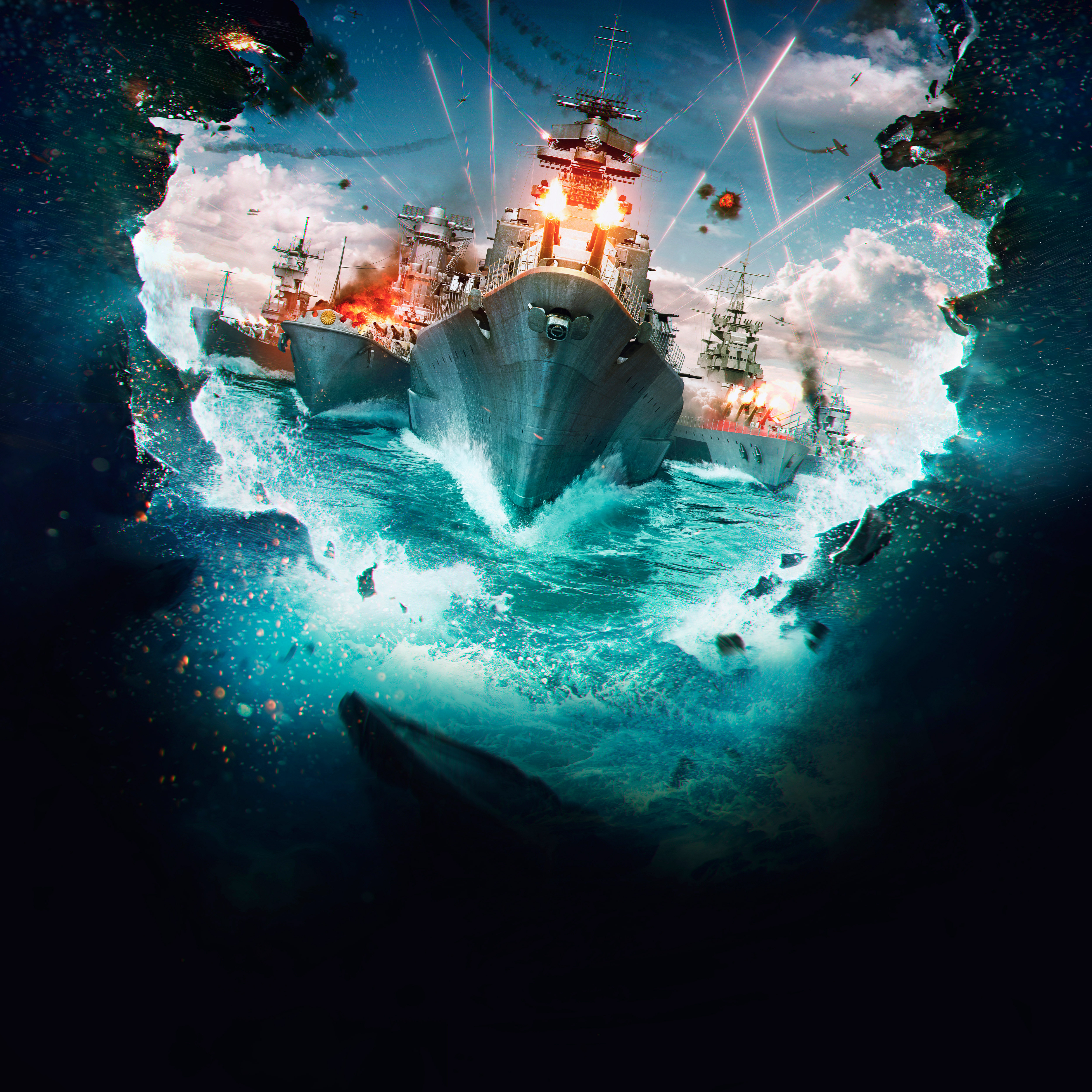 World Of Warships 5k, HD Games, 4k Wallpapers, Images, Backgrounds, Photos and Pictures