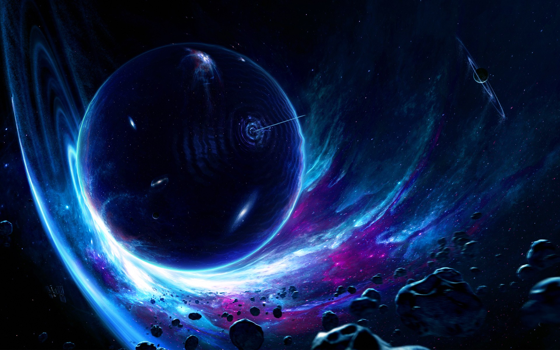 wormhole wallpaper space - photo #10