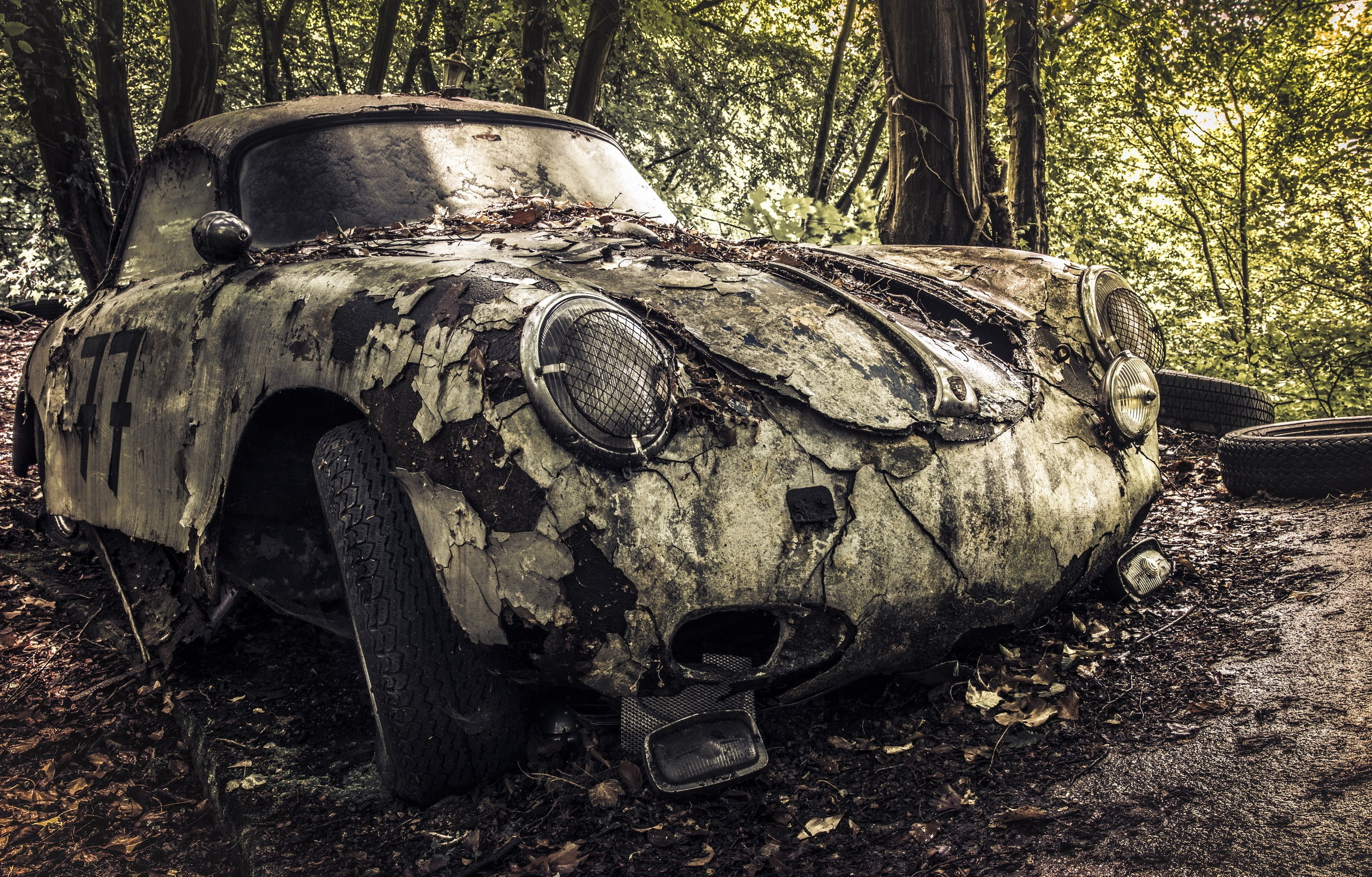 Wrecked Car, HD Cars, 4k Wallpapers, Images, Backgrounds, Photos and ...