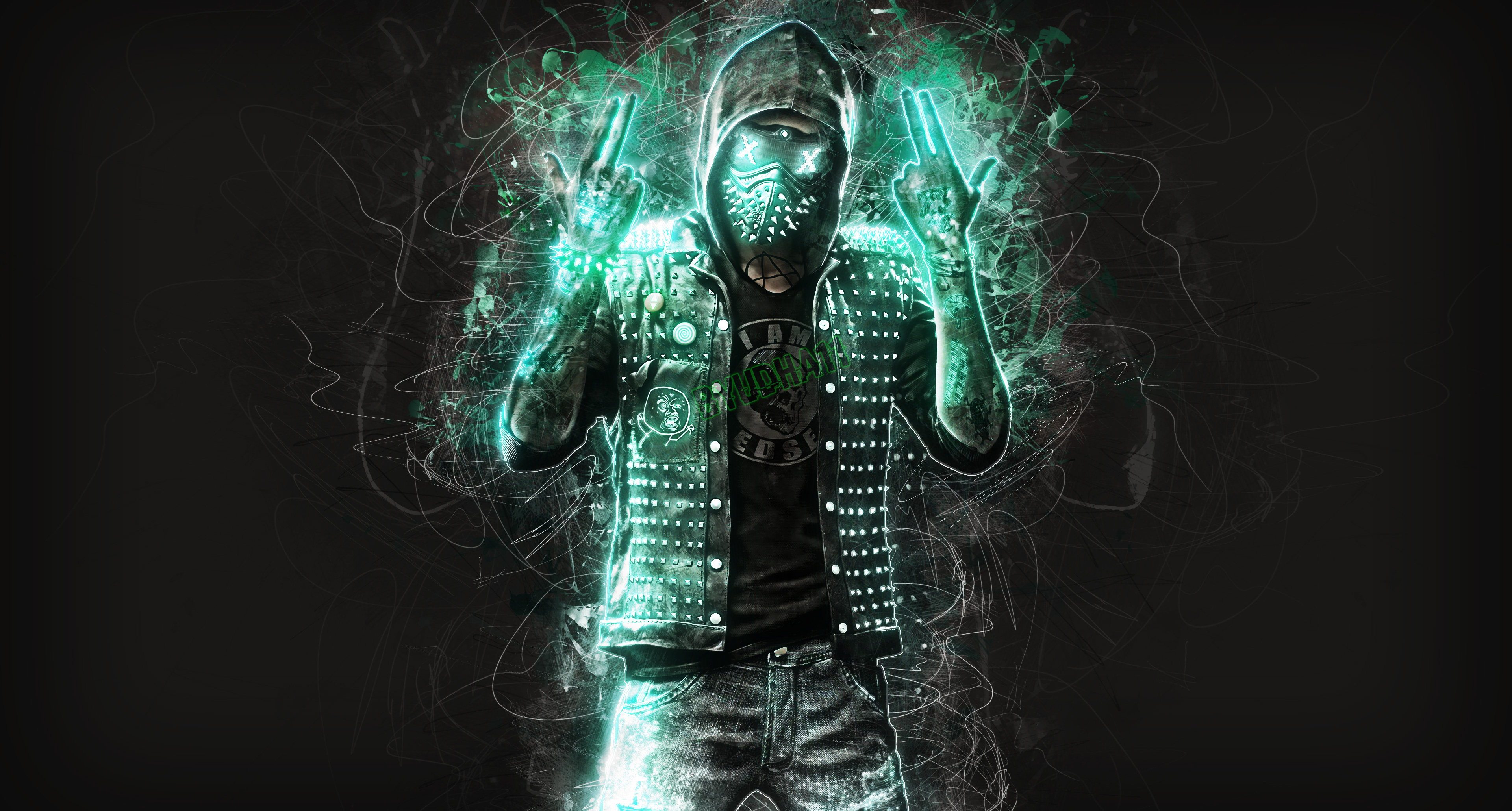 Watch Dogs  Wrench Wallpaper Computer