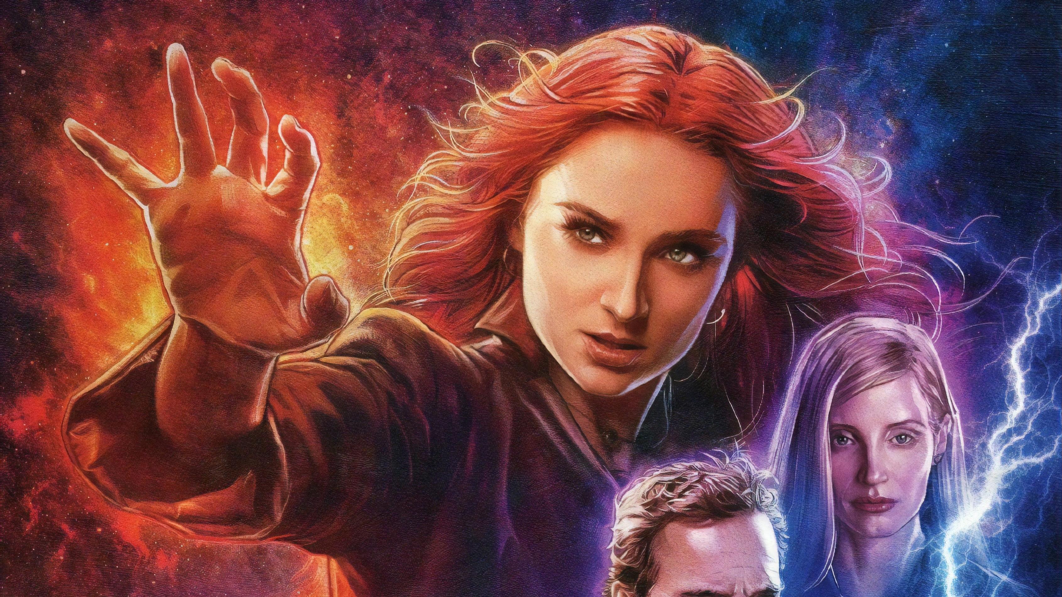 X Men Dark Phoenix Poster 4k Hd Movies 4k Wallpapers