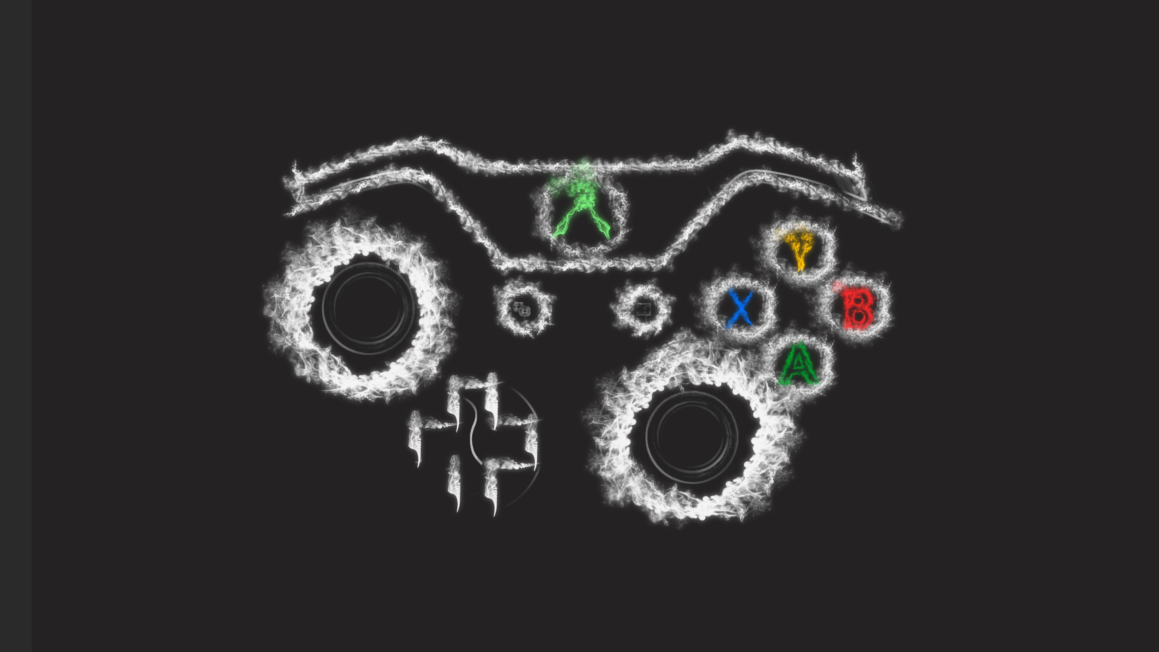 Xbox Controller Art 2048x1152 Resolution
