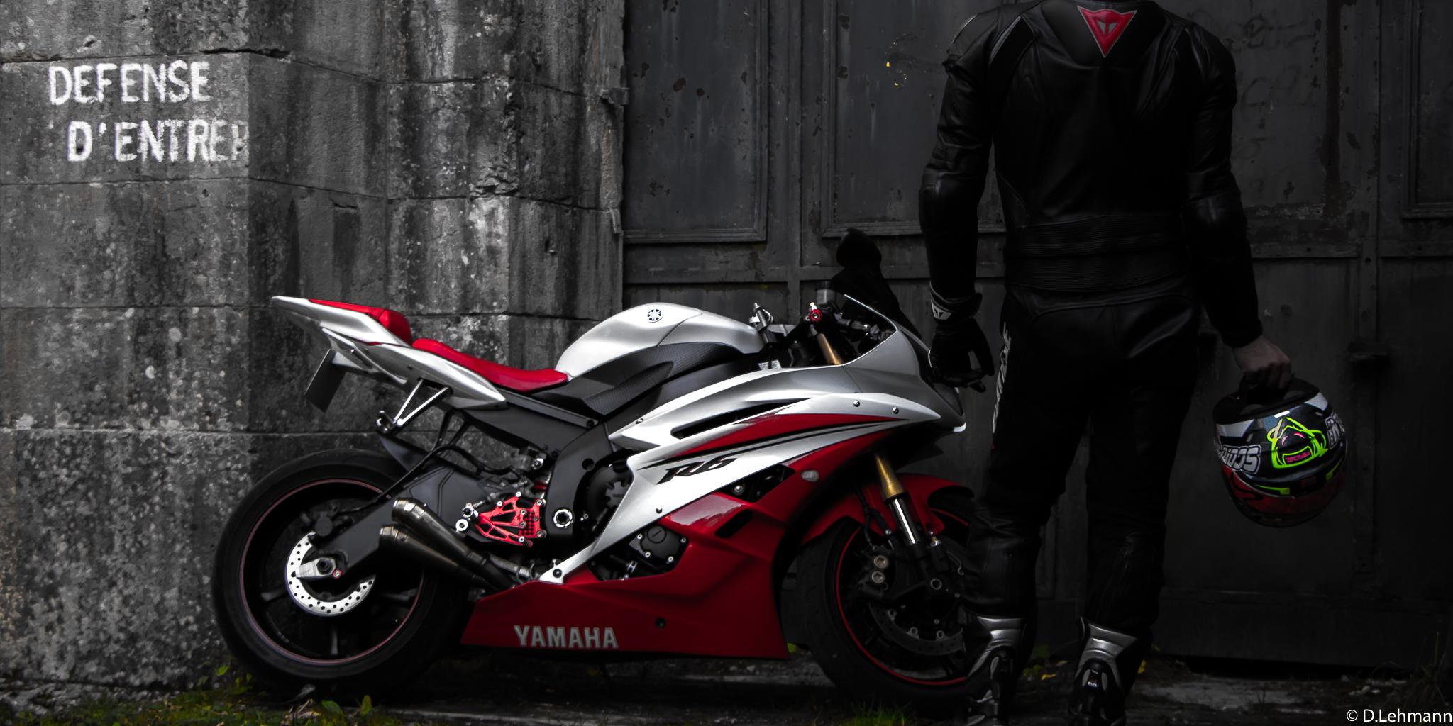 Yamaha R6 Rider, HD Bikes, 4k Wallpapers, Images