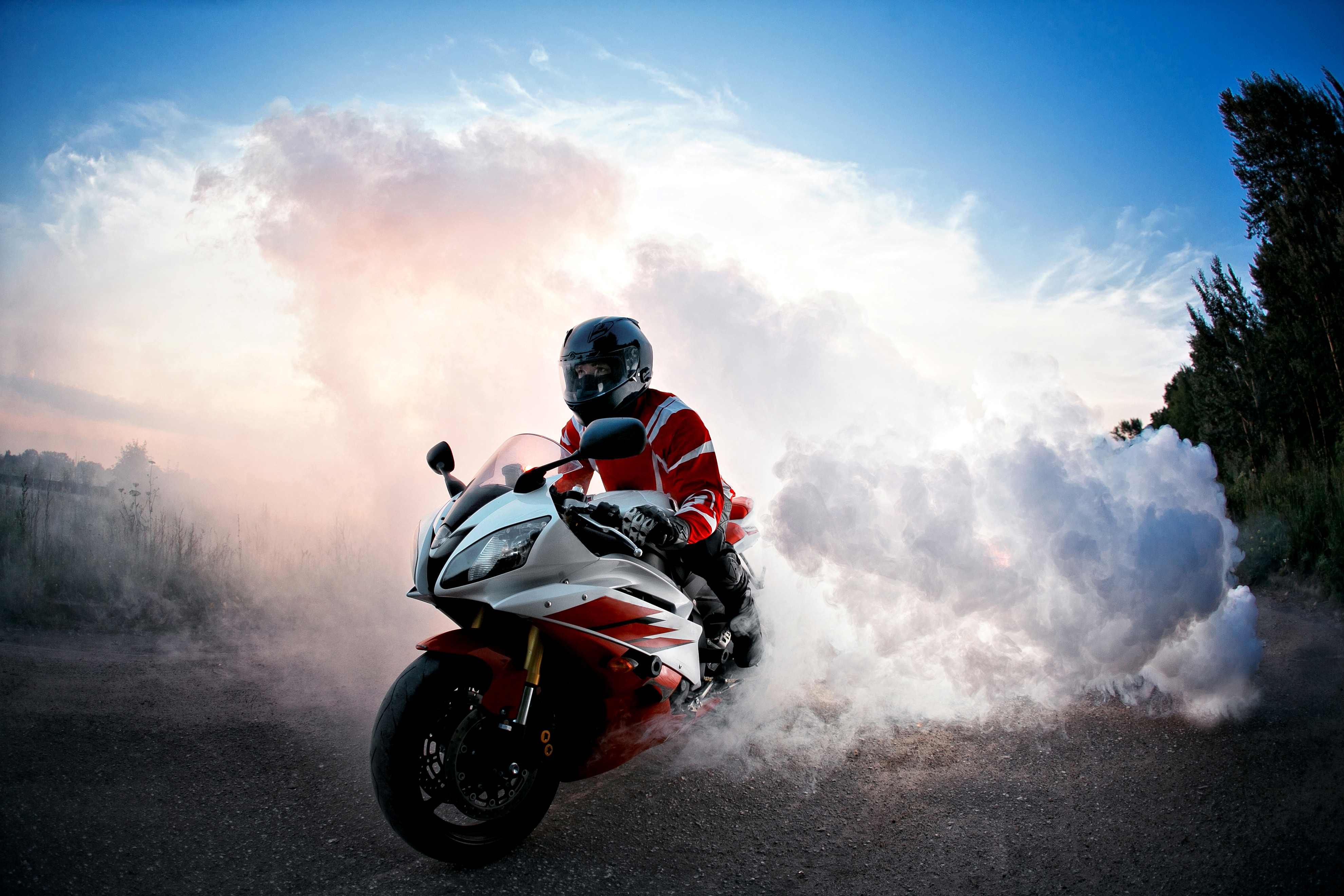 Yamaha R6 Smoke Hd Bikes 4k Wallpapers Images