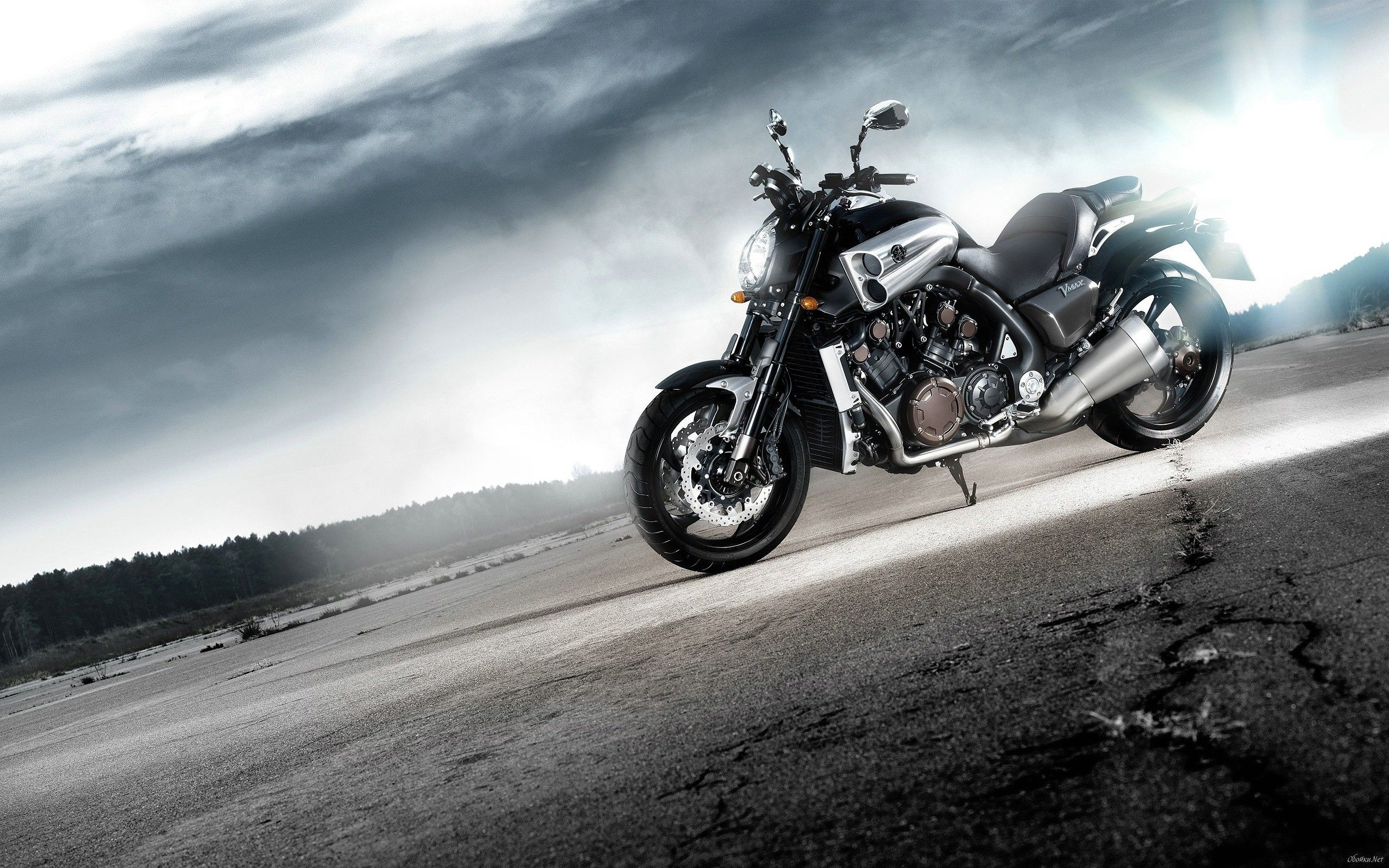 yamaha vmax, hd bikes, 4k wallpapers, images, backgrounds, photos