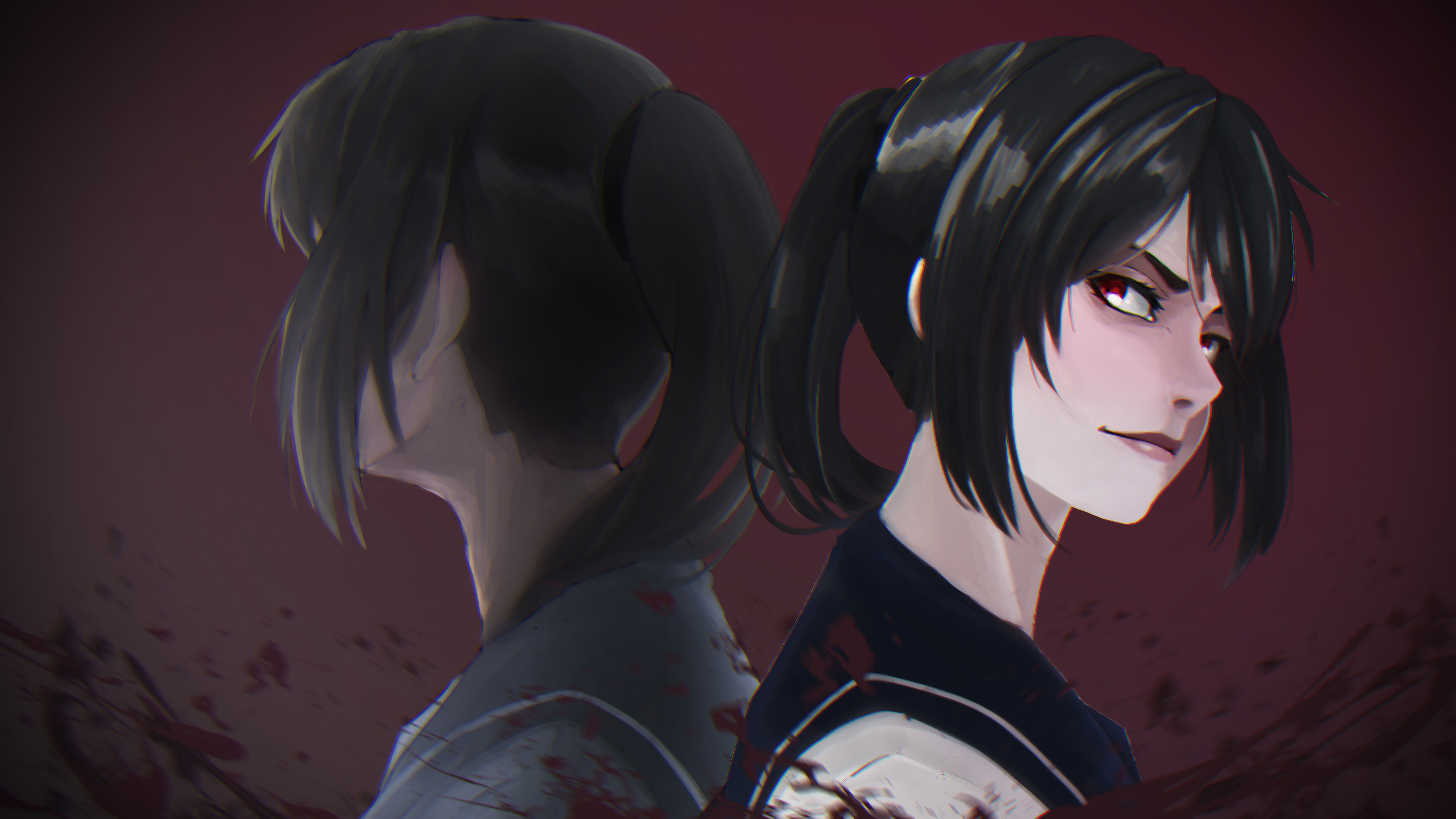 Yandere chan 5k hd anime 4k wallpapers images - 5k anime wallpaper ...