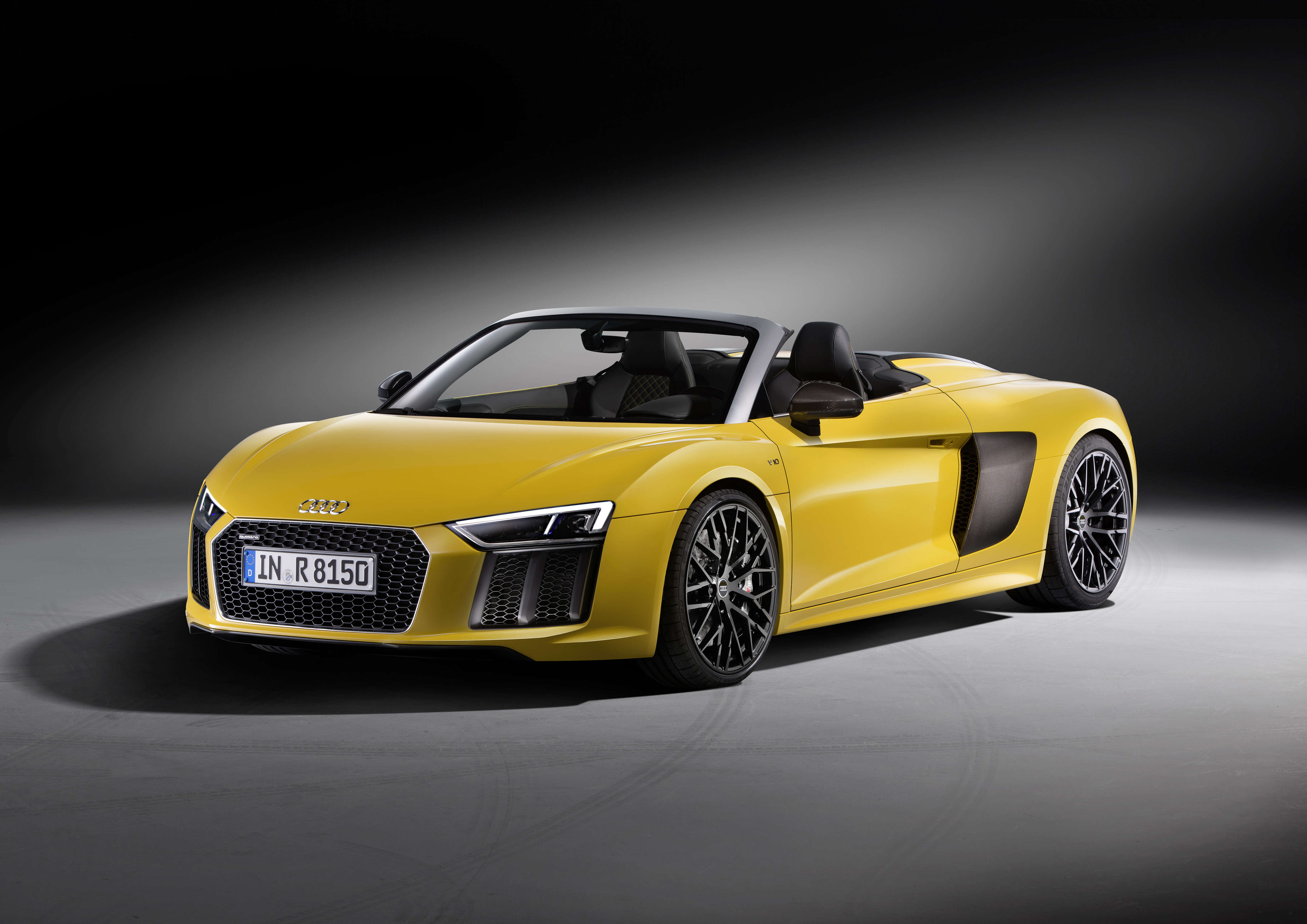 Yellow Audi R8 V10 Plus, HD Cars, 4k Wallpapers, Images ...
