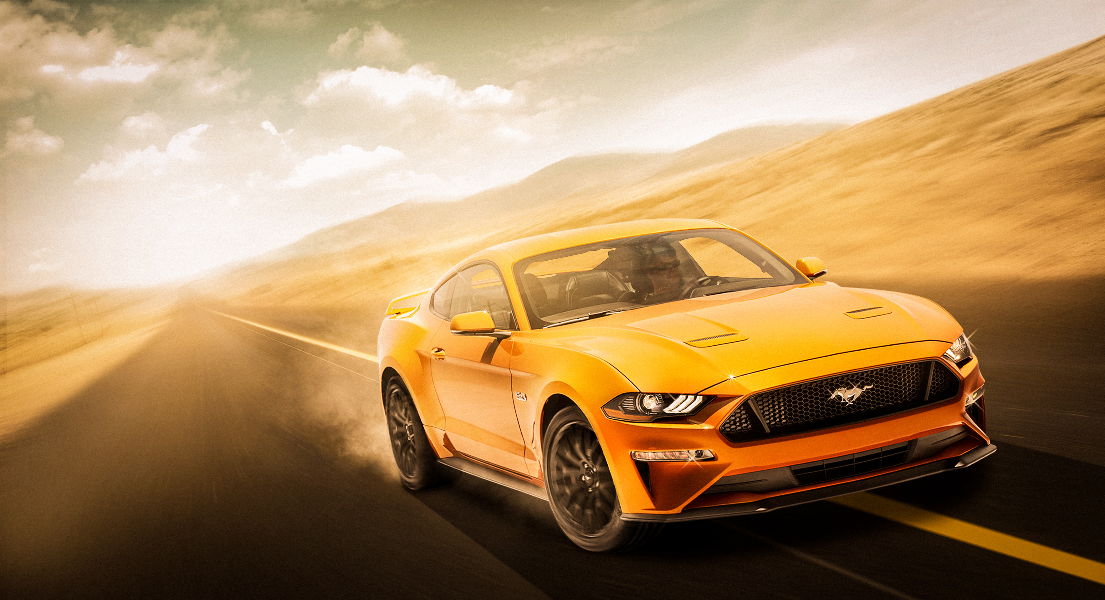 Yellow Mustang 4k, HD Cars, 4k Wallpapers, Images ...