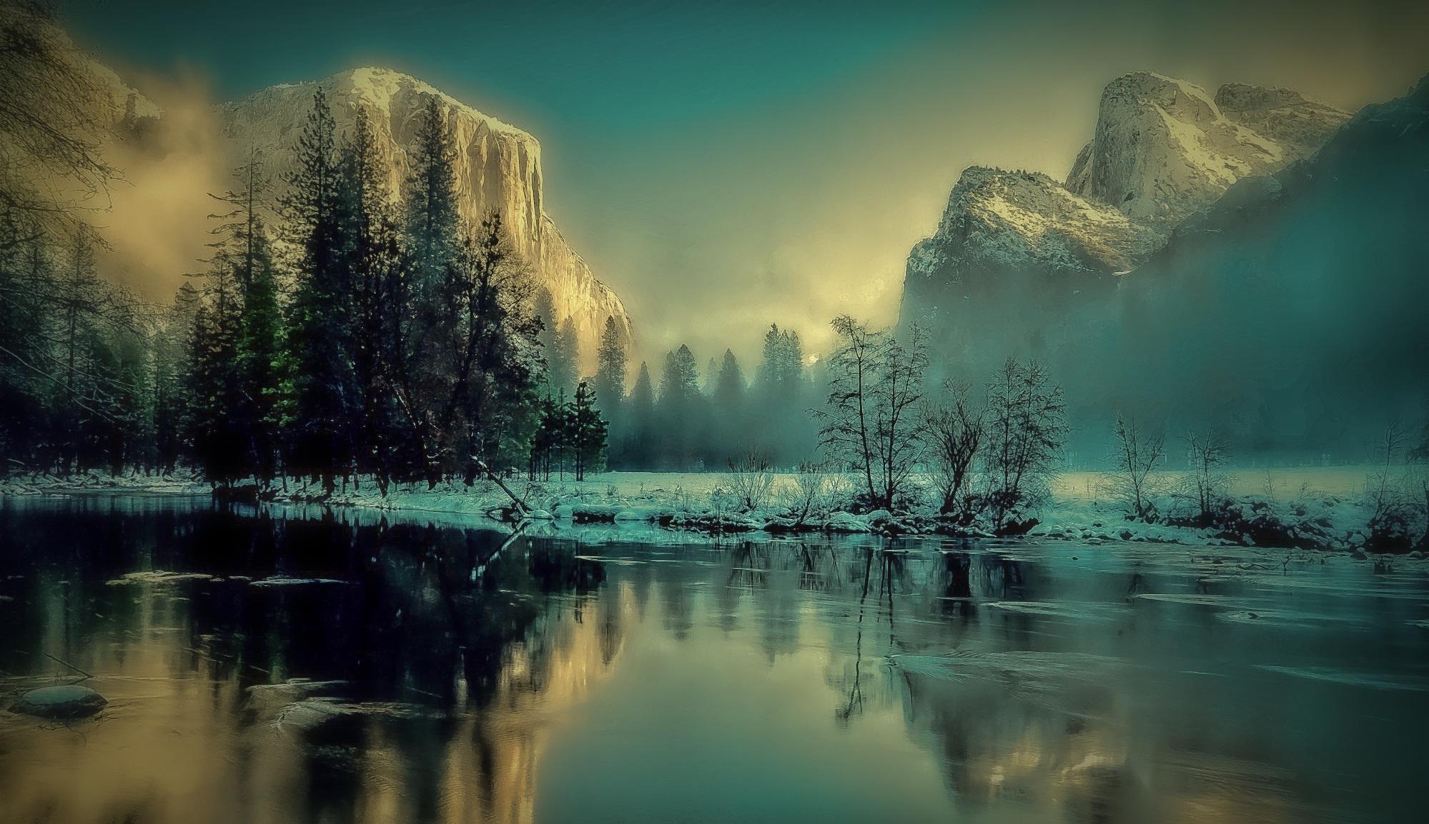 Yosemite Park Landscape Sunrise, HD Nature, 4k Wallpapers ...
