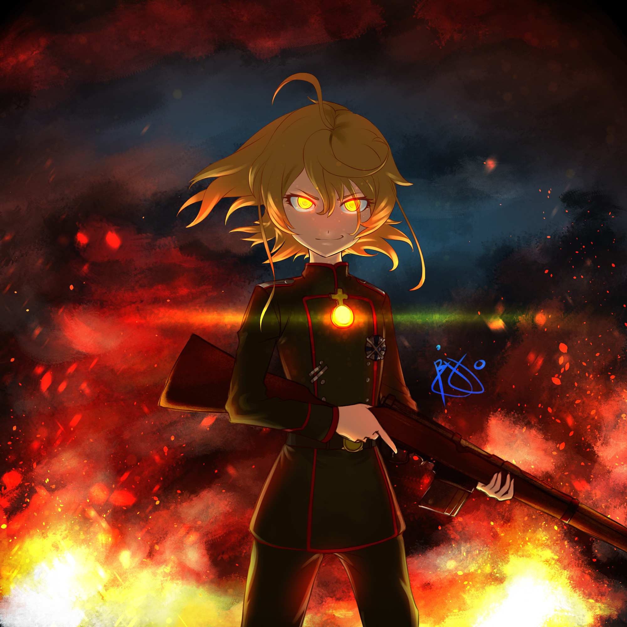 Youjo Senki, HD Anime, 4k Wallpapers, Images, Backgrounds