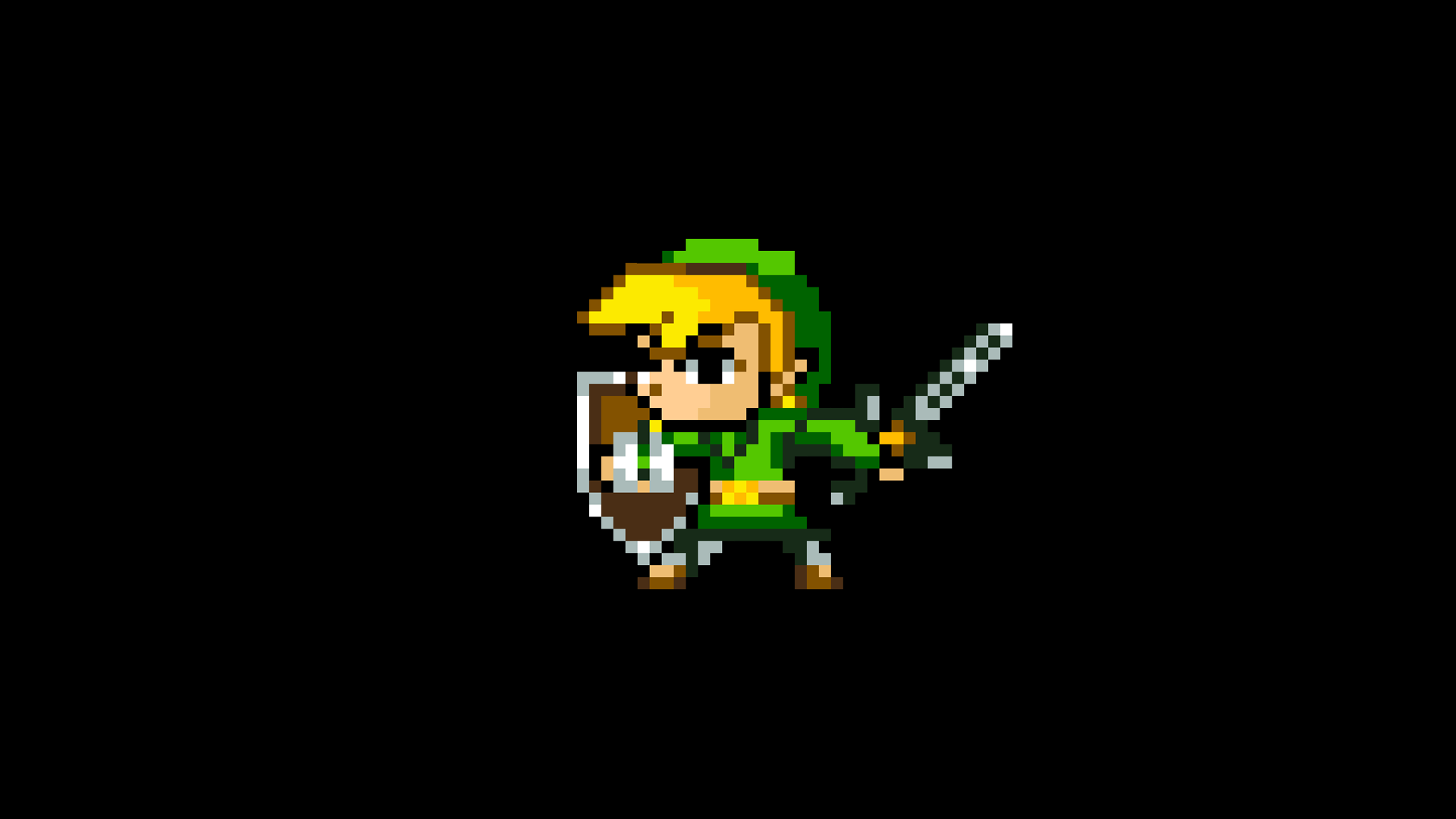8bit Link  Zelda amp Video Games Background Wallpapers on
