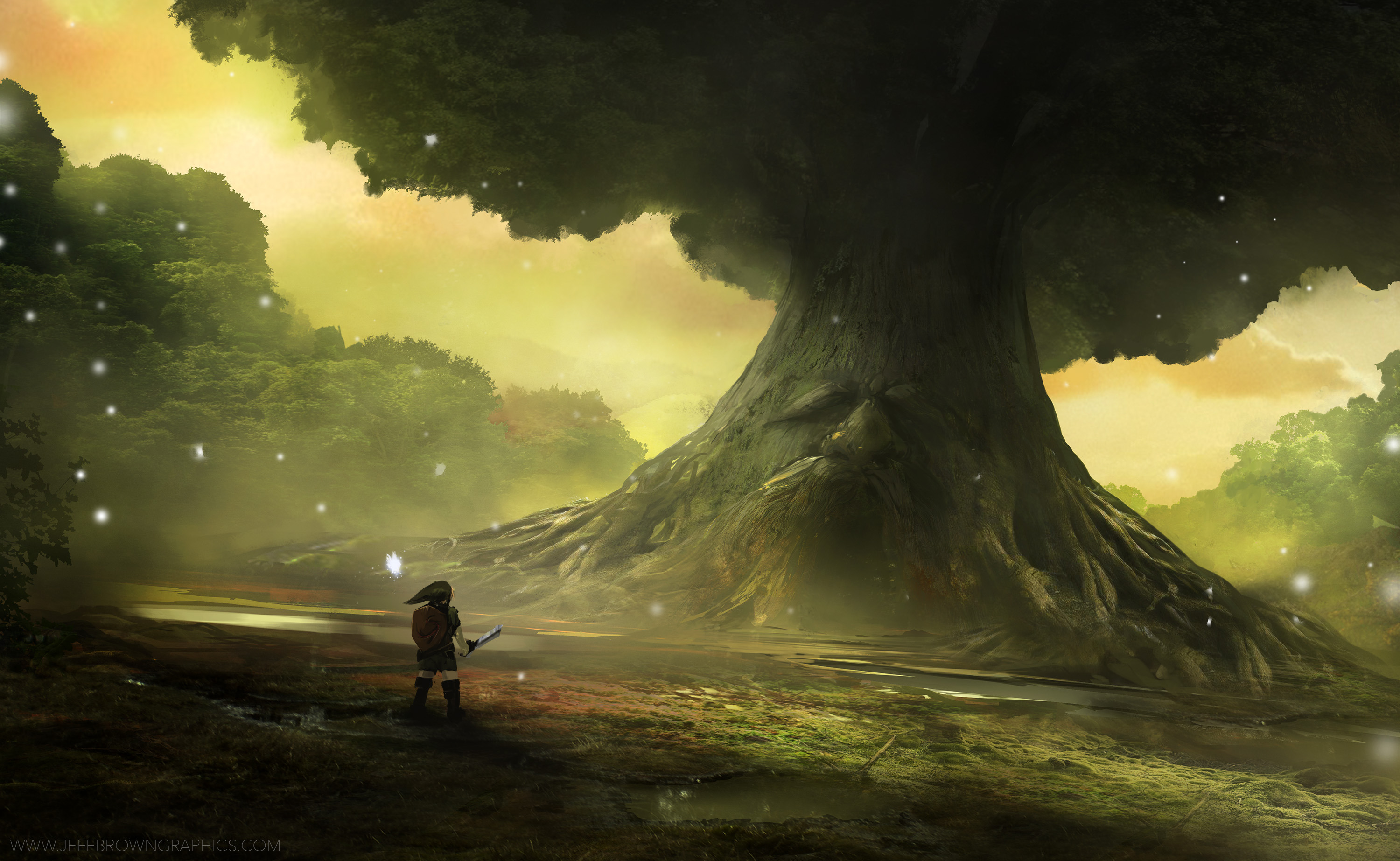 Zelda Ocarina Of Time Artwork