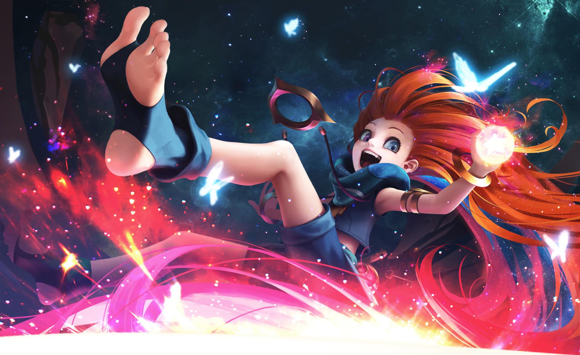 Zoe League Of Legends Hd