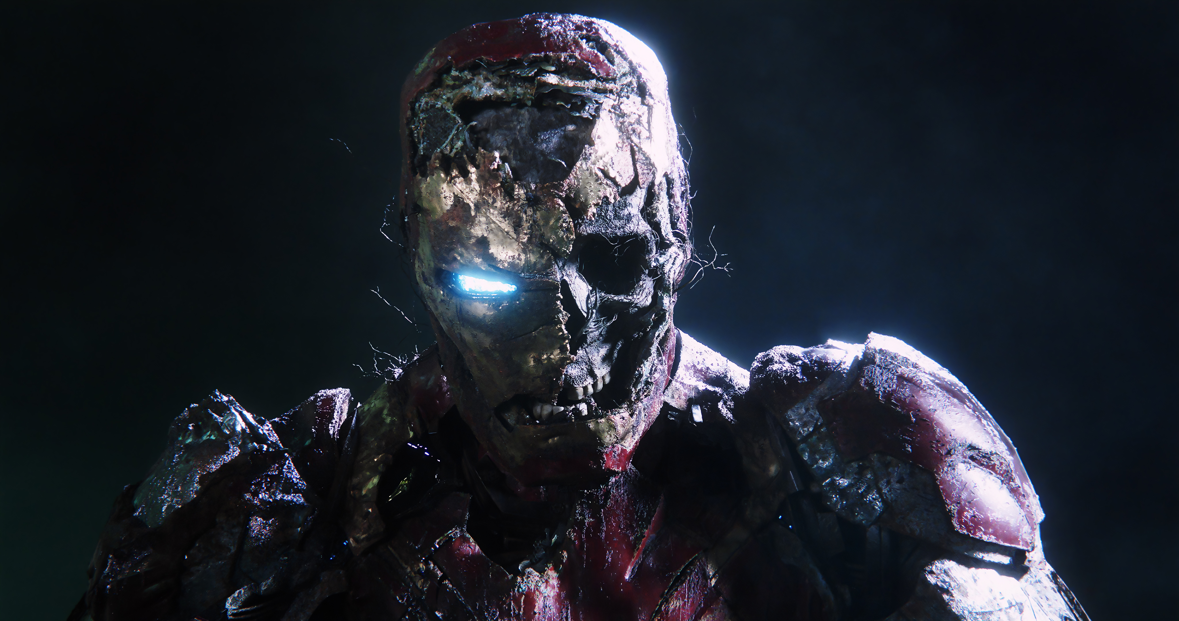 1920x1080 Zombie Iron Man In Spiderman Far From Home Laptop