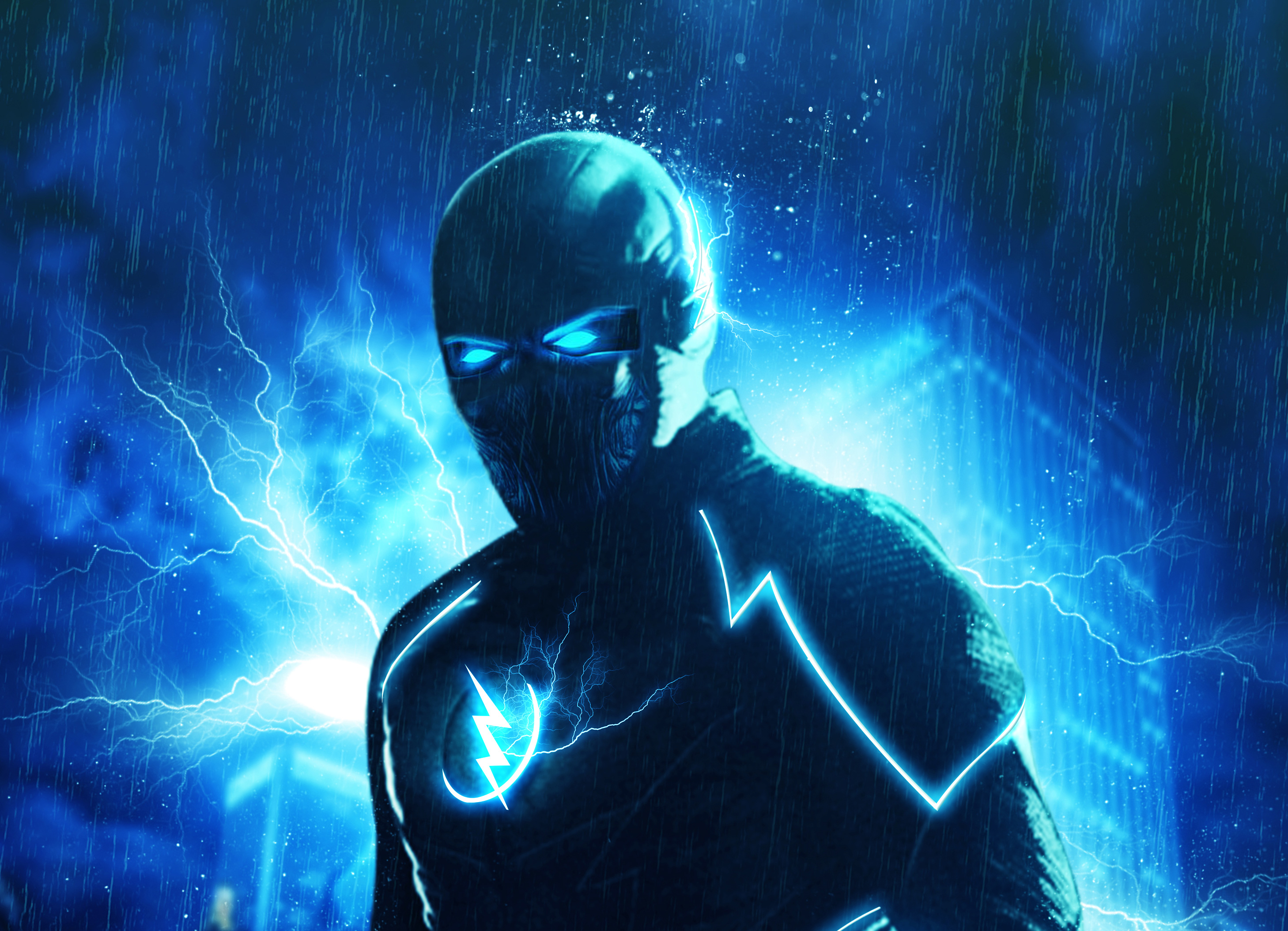 zoom in flash artwork hd tv shows 4k wallpapers images