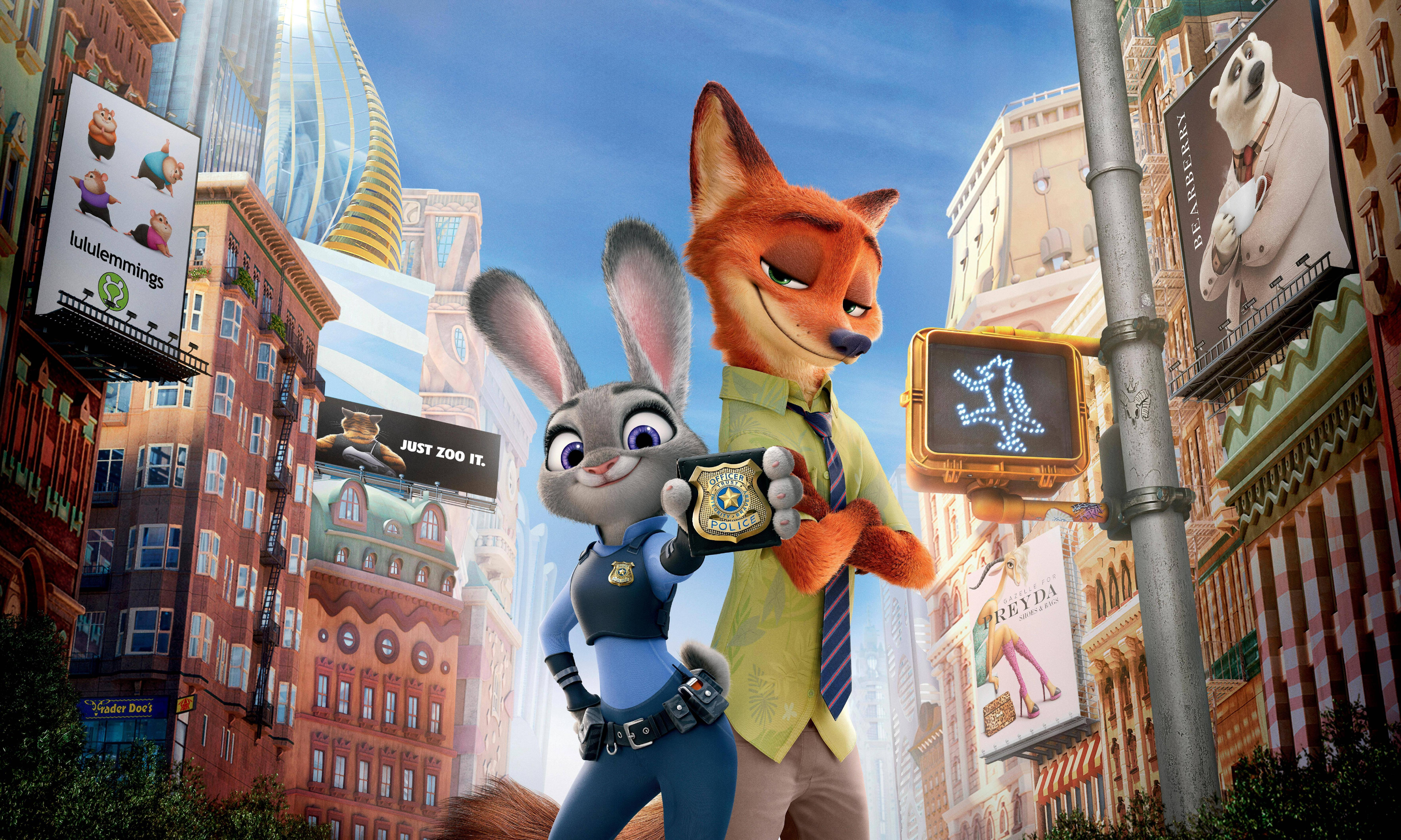 zootopia judy hopps and nick