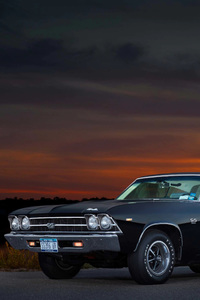 320x568 1969 Chevrolet Chevelle SS 396