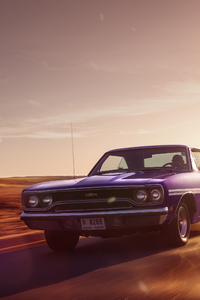 320x568 1970 PLYMOUTH GTX Front