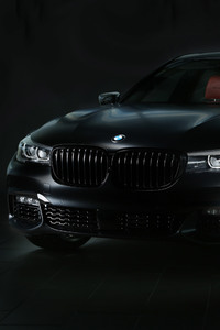 640x960 2017 BMW 740e IPerformance M Performance Front