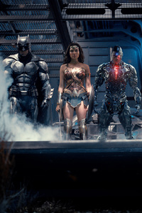 2017 Justice League Movie Heroes