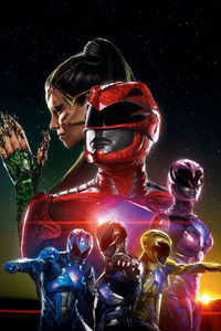 750x1334 2017 Power Rangers Movie