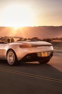 2018 Aston Martin Db11 Volante Rear