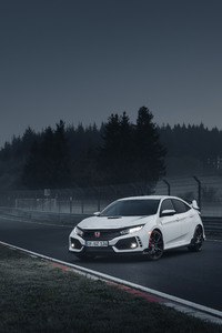 1440x2960 2018 Honda Civic Type R 4k