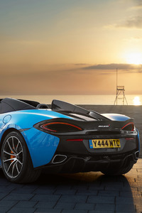 2018 McLaren 570S Spider Rear Look