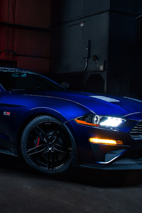 640x960 2018 Roush RS2 Blue Car