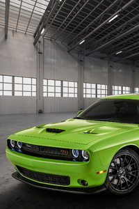1440x2560 2019 Dodge Charger SRT Hellcat In Green