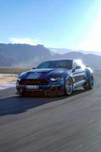 800x1280 2019 Ford Mustang Shelby GT350 4k