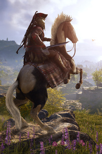 800x1280 4k Assassins Creed Odyssey 2018