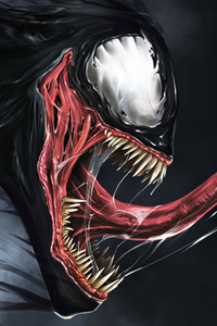 4k Digital Art Venom