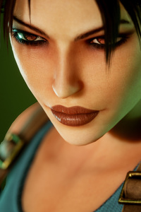 360x640 4k Lara Croft