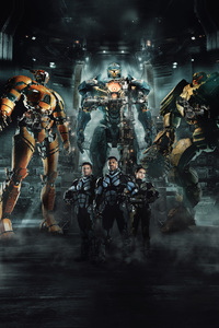 640x1136 4k Pacific Rim Uprising 2018 Movie