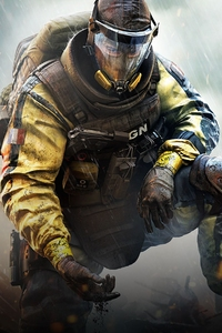 320x480 4k Tom Clancys Rainbow Six Siege Game