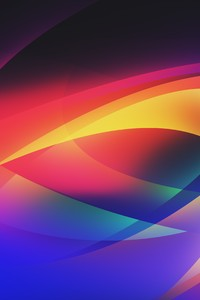 5k Abstract Colors Vector