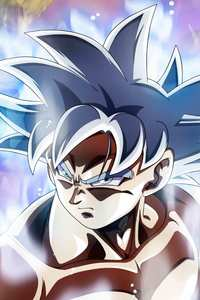 480x800 5k Goku Dragon Ball Super