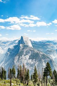 1125x2436 5k Yosemite National Park Great View