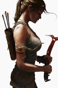 8k Tomb Raider Lara Croft