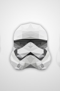 Abstract Artistic Helmet Stormtrooper