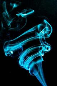 480x854 Abstract Smoke Flame
