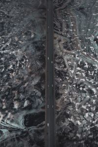 480x854 Aerial View Of Road Ice Frozen 4k
