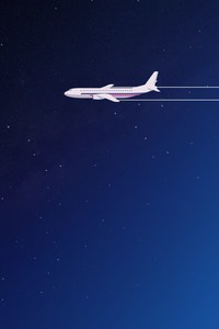 480x800 Airplane Digital Art