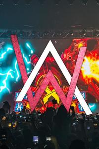1280x2120 alan walker all falls down iphone 6 hd 4k wallpapers images backgrounds photos and - Alan walker logo galaxy ...