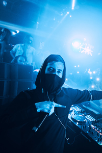 1125x2436 Alan Walker Dj Night