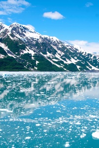 Alaska Glacier Ice Mountains